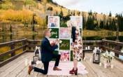 Предложението за брак с вдъхновение от есента