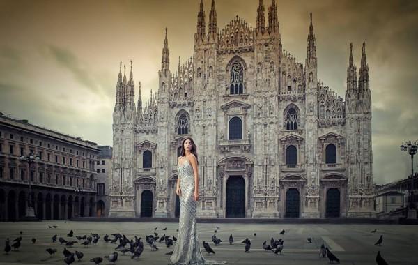 Брилянтин и Sherri Hill в Милано